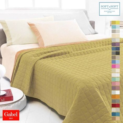 CHROMO Spring/Summer Quilted bedcover for single bed - Gabel