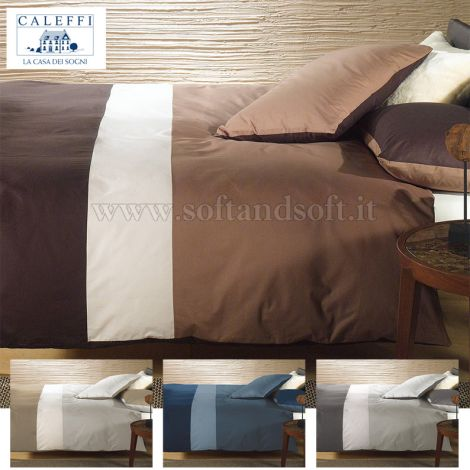 CITY Pure Cotton Duvet Cover for Double Bed by CALEFFI