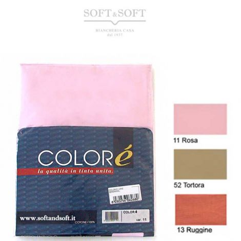 Solid Flat Sheet for three quarter beds - Colorè