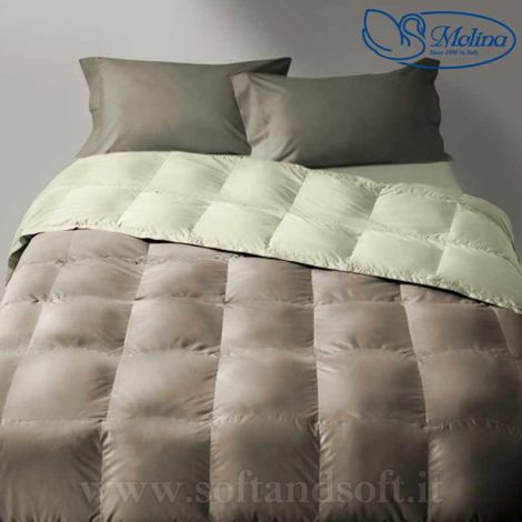 CLASSIC UNITO v.212 Quilt for Single Bed 100% Goose Down by MOLINA