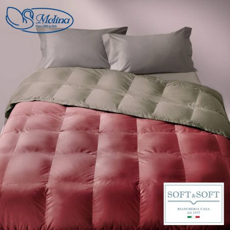 CLASSIC UNITO v.255 Quilt for Single Bed 100% Goose Down by MOLINA