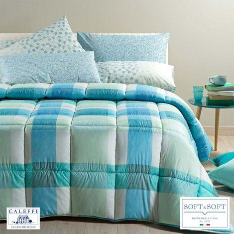 COTTAGE Winter Quilt size 220x265 CALEFFI-Bluette