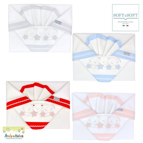 ORSETTI D31 Sheet Set for Cots by ANDY&HELEN