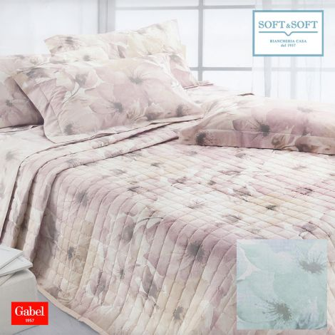 EDRA quilted bedcover for DOUBLE BED cotton GABEL