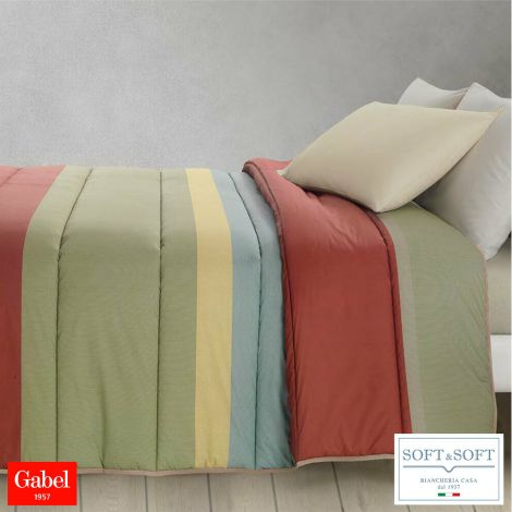 EDWARD trapunta per letto singolo Gabel-Castagno