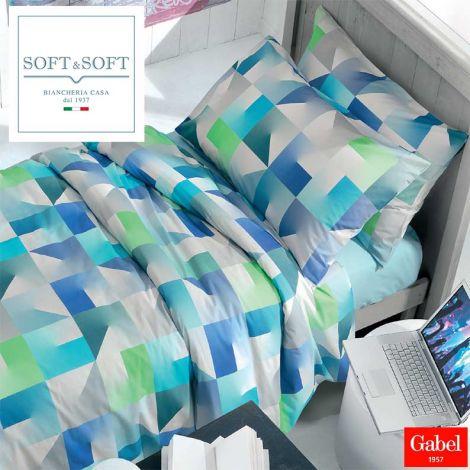 Evolution completo lenzuola per letto da una piazza e mezza MAXI cm 125x200 Gabel