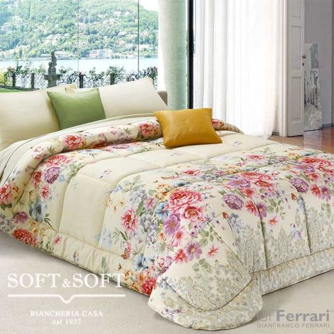 FERRARUCCIA 64 Winter Quilt DOUBLE size in Microfiber