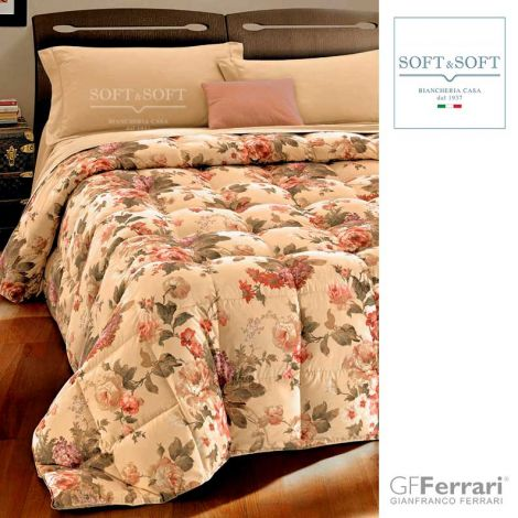 FERRARUCCIA 9 winter quilt DOUBLE size in microfiber
