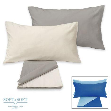 FRIENDS Bicolor Duvet Cover Set double bed Size in Cotton
