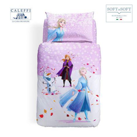 FROZEN MAGICA Duvet Cover Set for Disney CALEFFI Single Bed