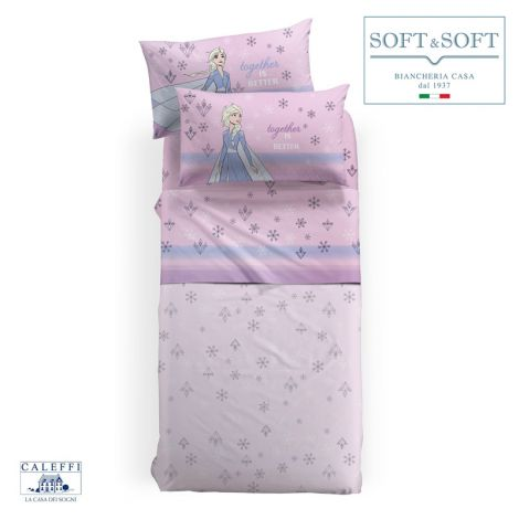 FROZEN SOGNI sheets for SINGLE Disney by CALEFFI