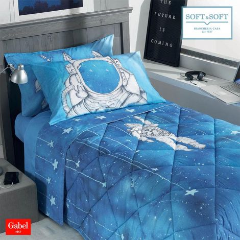 GALAXY winter quilt SINGLE bed size cotton GABEL