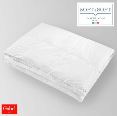 Duvet for single bed and a half in feather 90/10 - NOTTETEMPO - GABEL