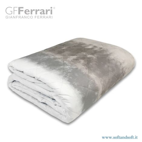 PRIMAVERA beige natural quilted bedcover for single bed by GFFerrari