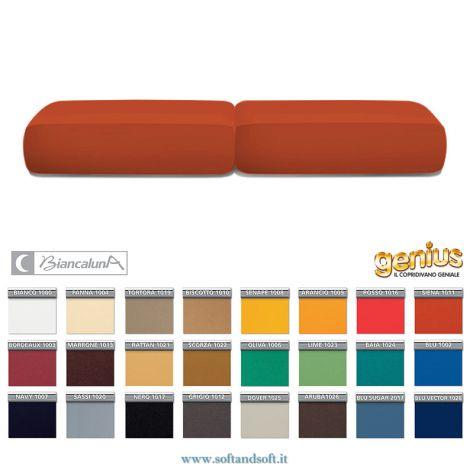 coppia coopricuscini elasticizzati antimacchia tinta unita disponibili in tutti i colori
