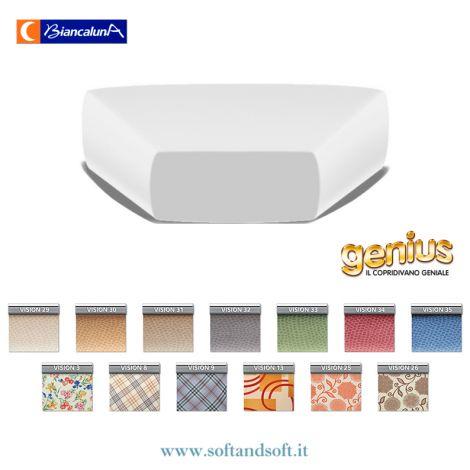 Genius 4D CORNER Cushion Cover - VISION Biancaluna