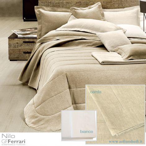 NILO Pure Linen Sheet set for Single Bed