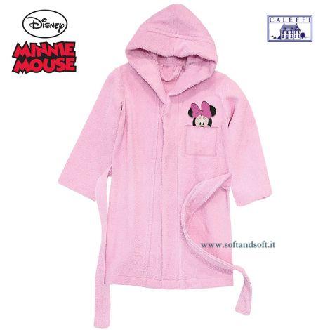 MINNIE FANTASY Baby Bathrobe Disney CALEFFI
