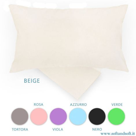 COLOR Set of Plain-coloured Pillowcases