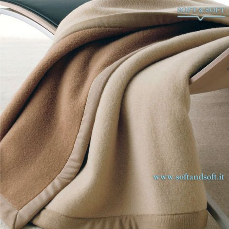 Coperta Lana Somma in lana di Cammello di alta qualità Made in Italy