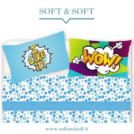 POP Sheet set for single bed pure printed cotton