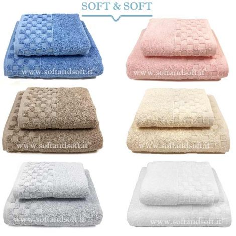 Check 1+1 Towel Set 500 gr/sm