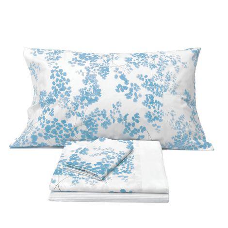 PROPOSAL Sheet set for double bed GABEL Light blue