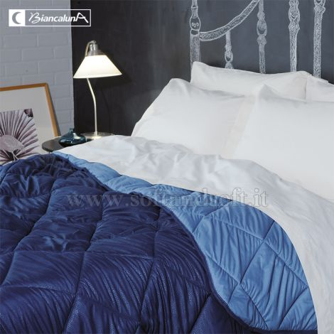 INDICOLOR Microfibre Quilt for Single Bed by BIANCALUNA