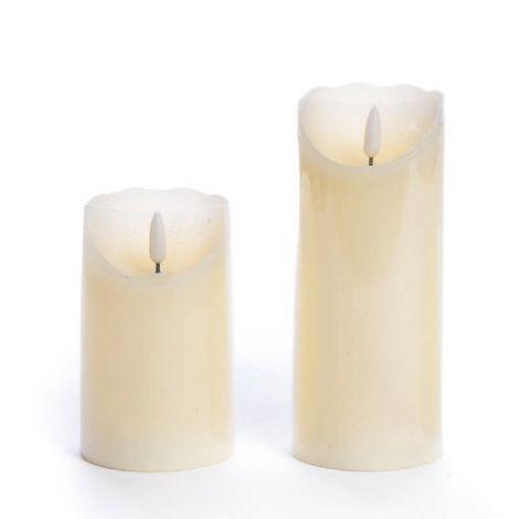 Candela a led - set due candele per la perfetta atmosfera