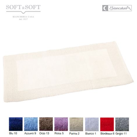 Live tappeto morbidissimo puro cotone cm 55x130