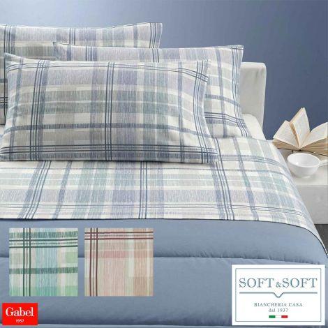 Logan sheets  set FLANNEL three-quarter bed Gabel