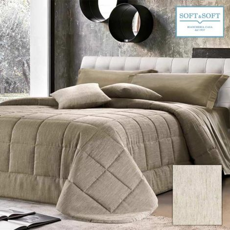 LUCIA quilted bedspread double bed size 265×265 GFFERRARI