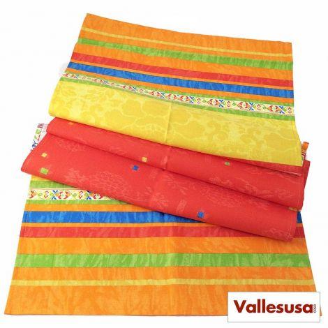 MAGIE tablecloth runner cm 50x150 orange