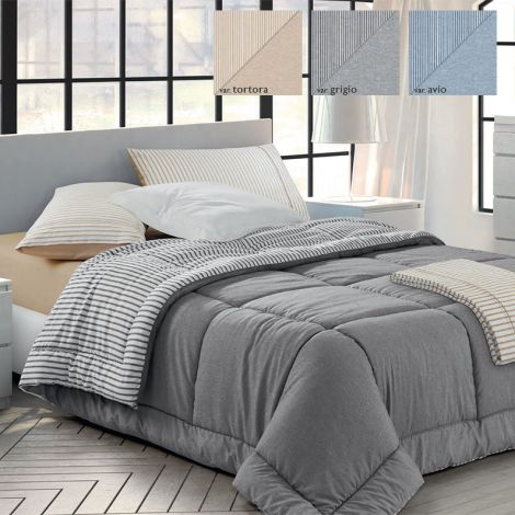 MARA Double Face Quilt for thre-quarter BED by GFFERRARI