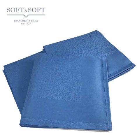 Tovagliolo sfuso cm 53x53 puro cotone Egiziano Blu