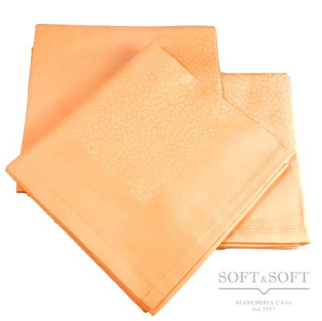 Tovagliolo sfuso cm 53x53 puro cotone Egiziano giallo