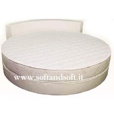 SPLENDOR materasso in espanso per letto Rotondo ignifugo Classe 1 IM