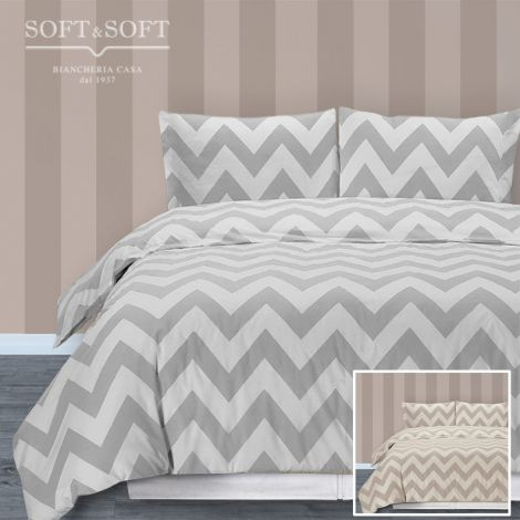MISSON double duvet cover (parure) Made in Italy
