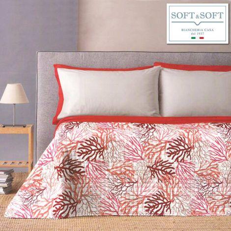 Nemo single bedspread for spring summer Coralli-Arancio