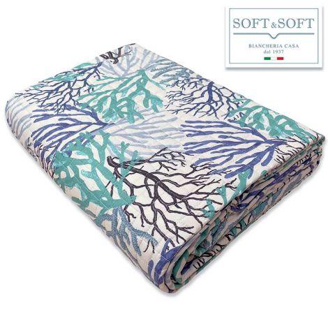 Nemo single bedspread for spring summer Coralli-Acqua
