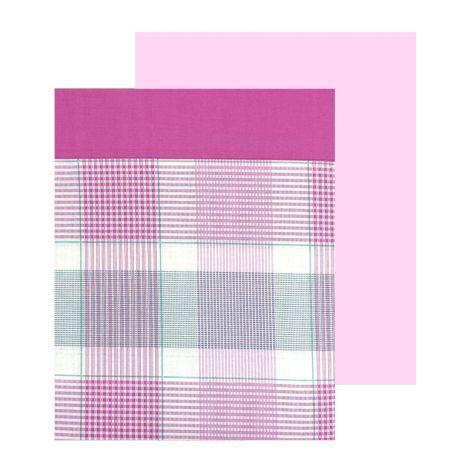 OXFORD completo lenzuola singolo stampato GABEL-Rosa