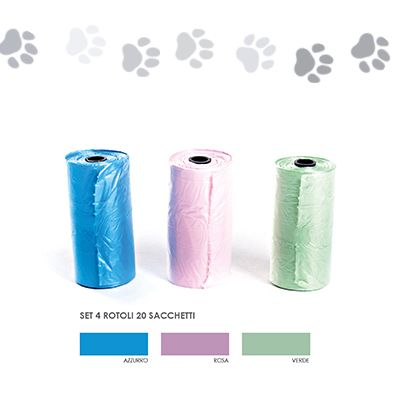 Toilet rolls pet toilet bags (96 rolls of 20 bags - € 0.015 per bag)