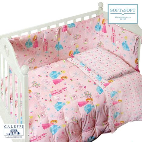 BABY PETIT PRINCESS Winter Quilt for cots Disney by Caleffi