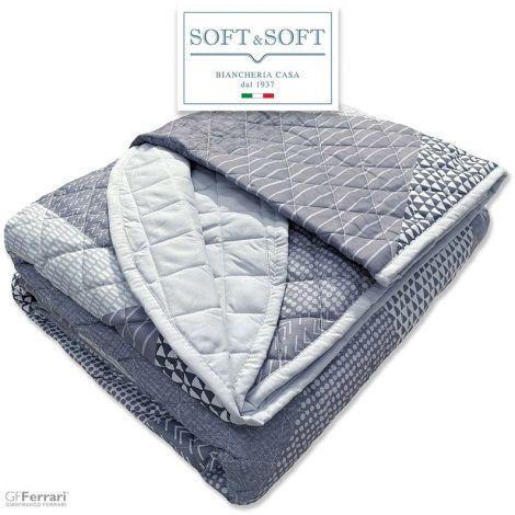 SPRING 31C bedspread Quilt SINGLE size in Microfiber