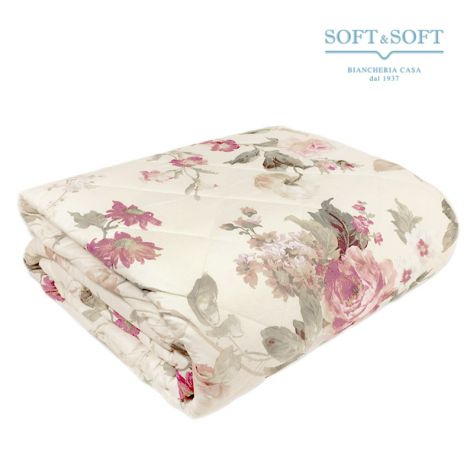 PRIMAVERA 9A  Quilted Bedcover for Three Quarter Bed by GFFerrari
