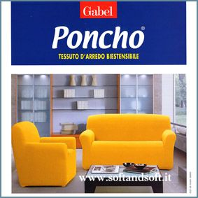 PONCHO LIVING Two-place Sofà-cover Gabel