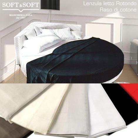 ROTONDO RASO ROUND BEDSHEETS with 4 COTTON SHEETS