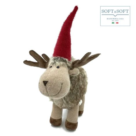 RUPERT reindeer Christmas decoration cm 42 (h)
