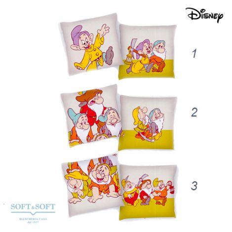Sette Nani Cuscino Disney Caleffi cm 40x40
