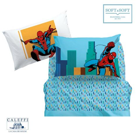 lenzuola spider-man marvel